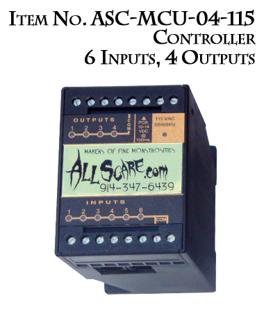 Controller Item No. AS-MCU-04-115 6 Inputs, 4 Outputs