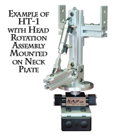 HT-1 with Head Rotation Assembly Mounted on Neck Plate
